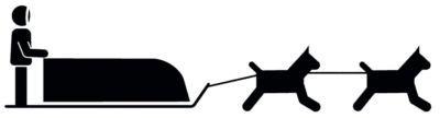 <p><strong>DOGSLED</strong> [Mode of Travel]</p> Example Image