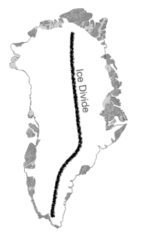 ICE DIVIDE OF GREENLAND Example Image