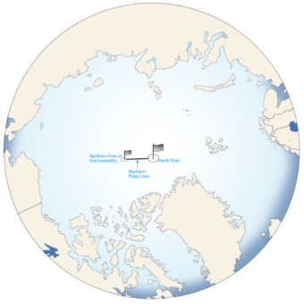 NORTHERN POLE OF INACCESSIBILITY (POI) Example Image