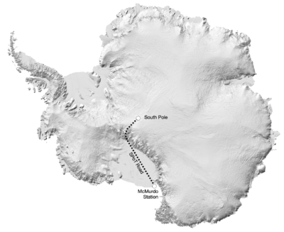 <p><strong>SPoT ICE ROAD</strong></p> Example Image
