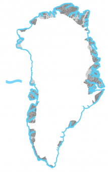 <p><strong>Coastal Margin</strong> in <strong>Greenland</strong> - sea level</p> Example Image
