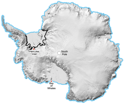 <p><strong>Crossing</strong> of <strong>Antarctica</strong></p> Example Image