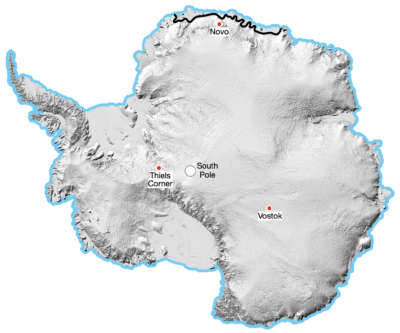 An Inland Expedition on Antarctica Example Image