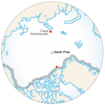 A Crossing of the Arctic Ocean Example Image