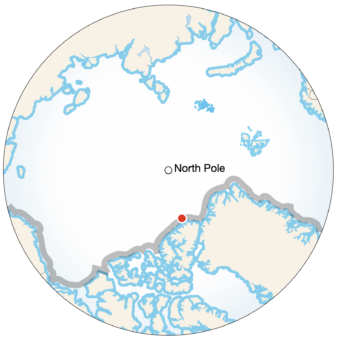 Expedition on the Arctic Ocean Example Image