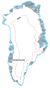 An Inland Crossing of Greenland: Example Image