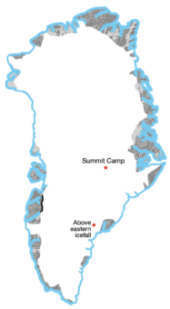 An Inland Expedition on Greenland Example Image